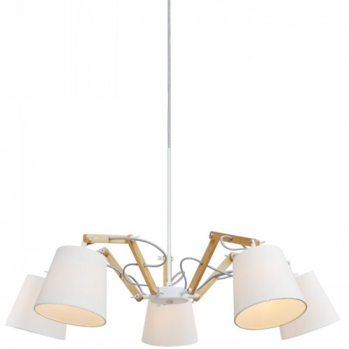 Люстра подвесная ARTE LAMP A5700LM-5WH PINOCCIO, A5700LM-5WH