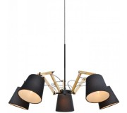 Люстра подвесная ARTE LAMP A5700LM-5BK PINOCCIO, A5700LM-5BK