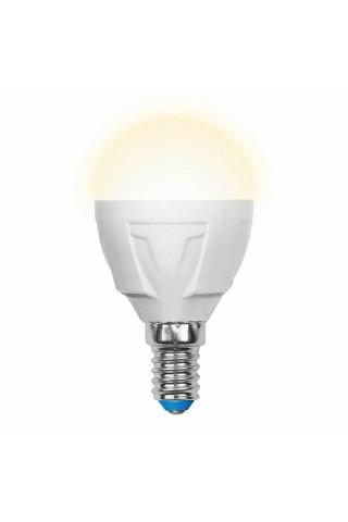 Лампа диммируемая светодиодная Uniel UL-00000694 Е14 6W 3000K