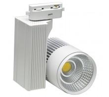 Трековый светодиодный светильник 30W 4200K 0010.0061 однофазный