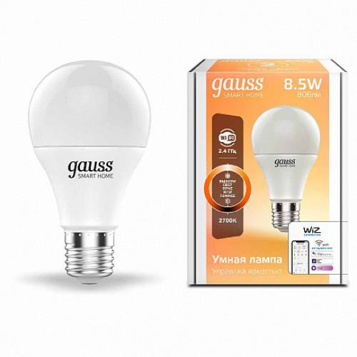 Лампа диммируемая светодиодная Gauss 1050112 Е27 8,5W 2700K