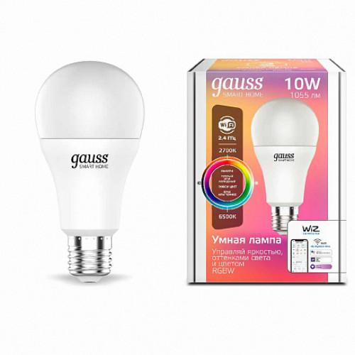 Лампа диммируемая светодиодная Gauss 1180112 Е27 10W 2700-6500K