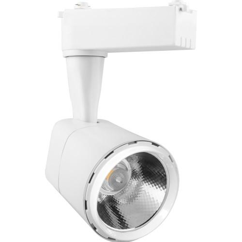 Трековый светодиодный светильник 8W 4000K 29510 однофазный