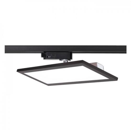 Трековый светодиодный светильник 20Вт 3000К 357989 однофазный