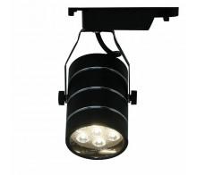 Трековый светодиодный светильник 7W 4000K A2707PL-1BK однофазный