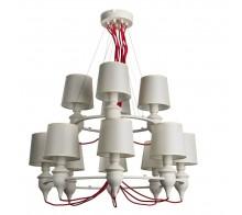 Люстра подвесная ARTE LAMP A3325LM-8-4WH SERGIO