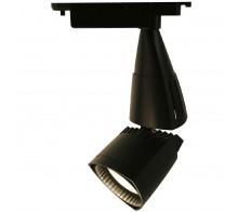 Трековый светодиодный светильник 30W 4000K A3830PL-1BK однофазный