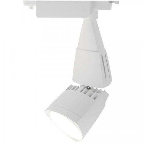 Трековый светодиодный светильник 30W 4000K A3830PL-1WH однофазный