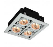 Встраиваемый светильник ARTE LAMP A5930PL-4WH Cardani