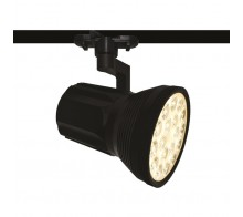 Трековый светодиодный светильник 18W 4000K A6118PL-1BK однофазный