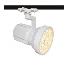 Трековый светодиодный светильник 18W 4000K A6118PL-1WH однофазный