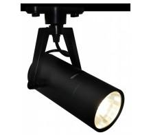 Трековый светодиодный светильник 10W 4000K A6210PL-1BK однофазный