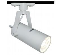 Трековый светодиодный светильник 10W 4000K A6210PL-1WH однофазный
