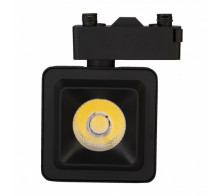Трековый светодиодный светильник 10Вт 4200К IL.TRL-10-Q.BK однофазный