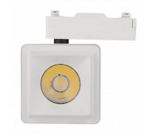 Трековый светодиодный светильник 10Вт 4200К IL.TRL-10-Q.WH однофазный