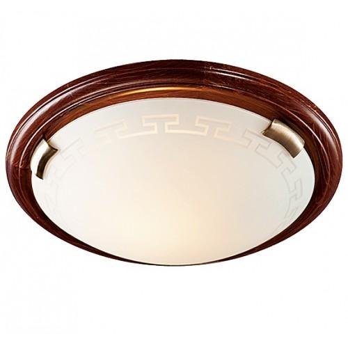 Светильник настенно-потолочный Сонекс 160 GRECA WOOD