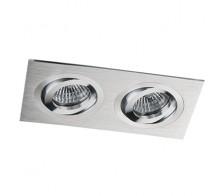 Светильник встраиваемый MEGALIGHT SAG 203-4 silver/silver