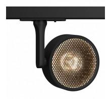 Трековый светодиодный светильник TR024-1-18B3K однофазный