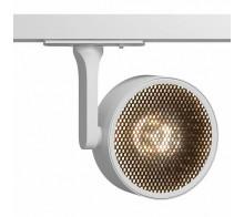 Трековый светодиодный светильник TR024-1-18W3K однофазный