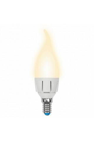 Лампа диммируемая светодиодная Uniel UL-00004299 Е14 7W 3000K