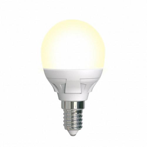 Лампа диммируемая светодиодная Uniel UL-00004302 Е14 7W 3000K