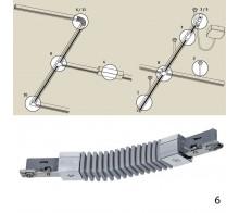 Соединитель гибкий PAULMANN 968.68 для трековой системы URAIL 230V