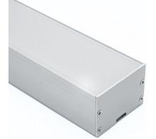 Профиль для светодиодной ленты накладной CAB257
