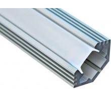 Профиль для светодиодной ленты угловой CAB272