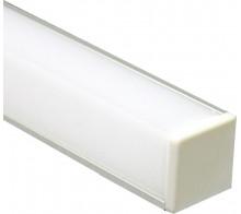 Профиль для светодиодной ленты угловой CAB281