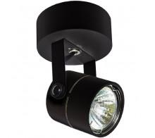 Светильник накладной GU5,3 0005.0200 черный