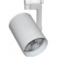 Трековый светильник Е27 E27PAR30WH однофазный