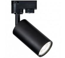 Трековый светильник GU10 TR002-1-GU10-B однофазный