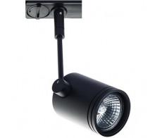 Трековый светильник GU10 8130 BLACK однофазный