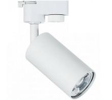 Трековый светильник GU10 TR002-1-GU10-W однофазный