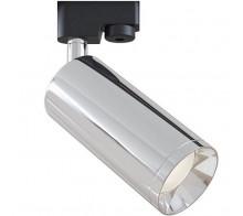 Трековый светильник GU10 TR004-1-GU10-CH однофазный