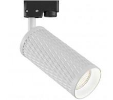 Трековый светильник GU10 TR011-1-GU10-W однофазный