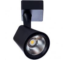 Трековый светодиодный светильник 10W 3000K A1811PL-1BK однофазный