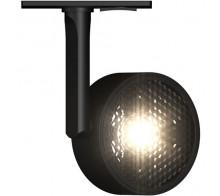 Трековый светодиодный светильник 10W 3000K TR024-1-10W3K-B однофазный