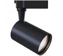 Трековый светодиодный светильник 12W 3000K TR003-1-12W3K-B однофазный