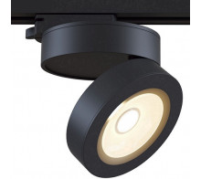 Трековый светодиодный светильник 12W 3000K TR006-1-12W3K-B однофазный