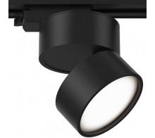 Трековый светодиодный светильник 12W 3000K TR007-1-12W3K-B однофазный