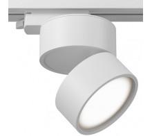 Трековый светодиодный светильник 12W 3000K TR007-1-12W3K-W однофазный