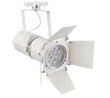Трековый светодиодный светильник 12W 4000K A6312PL-1WH однофазный