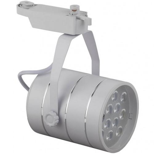 Трековый светодиодный светильник 12W 4000K Б0032106 однофазный