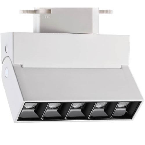 Трековый светодиодный светильник 13Вт 3000К 357843 однофазный