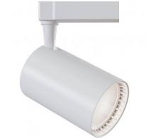 Трековый светодиодный светильник 17W 3000K TR003-1-17W3K-W однофазный