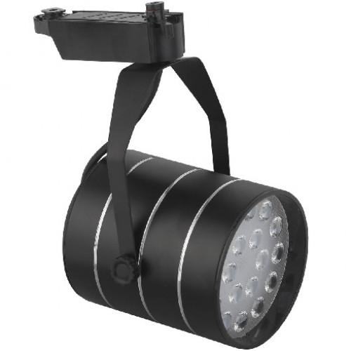 Трековый светодиодный светильник 18W 4000K Б0032111 однофазный