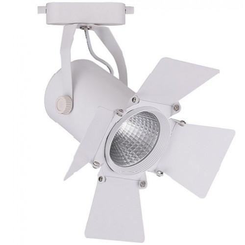 Трековый светодиодный светильник 20W 4000K 32556 однофазный
