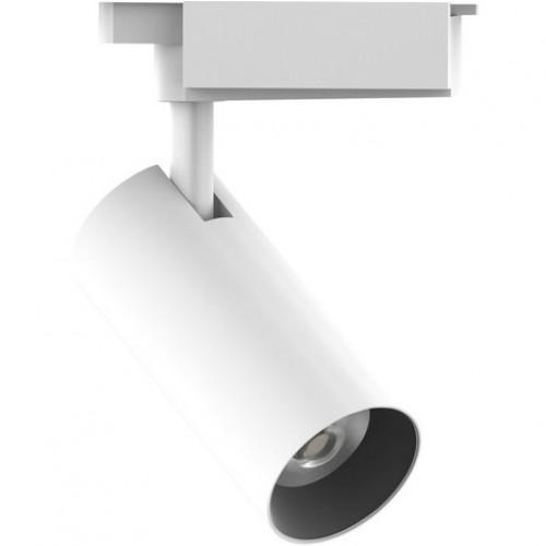 Трековый светодиодный светильник 20W 4000K TR083 однофазный
