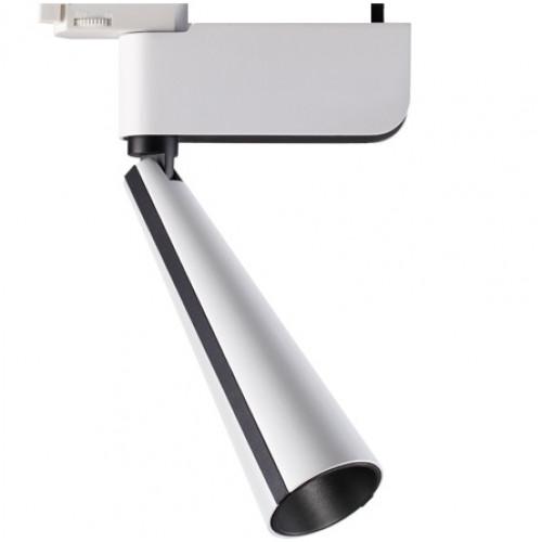 Трековый светодиодный светильник 23Вт 3000К 357863 однофазный